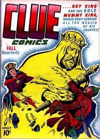 Cover Thumbnail for Clue Comics (Hillman, 1943 series) #v1#8 [8]