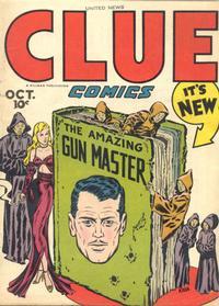 Cover Thumbnail for Clue Comics (Hillman, 1943 series) #v1#10 [10]