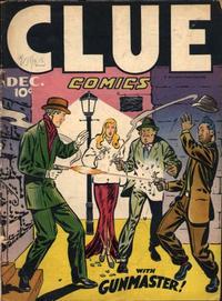 Cover Thumbnail for Clue Comics (Hillman, 1943 series) #v1#11 [11]