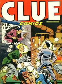 Cover Thumbnail for Clue Comics (Hillman, 1943 series) #v1#12 [12]