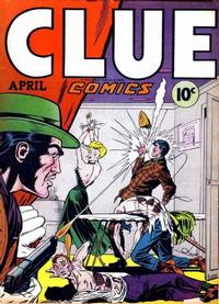 Cover Thumbnail for Clue Comics (Hillman, 1943 series) #v2#2 [14]