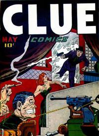 Cover Thumbnail for Clue Comics (Hillman, 1943 series) #v2#3 [15]