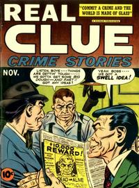 Cover Thumbnail for Real Clue Crime Stories (Hillman, 1947 series) #v2#9 [21]