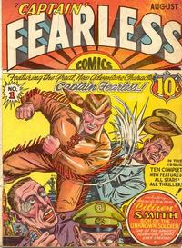 Cover Thumbnail for Captain Fearless Comics (Temerson / Helnit / Continental, 1941 series) #1