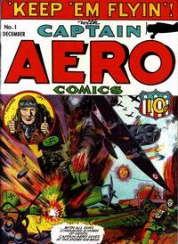 Cover Thumbnail for Captain Aero Comics (Temerson / Helnit / Continental, 1941 series) #v1#7 (1)