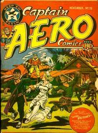 Cover Thumbnail for Captain Aero Comics (Temerson / Helnit / Continental, 1941 series) #v3#10 (12)
