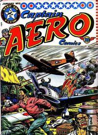 Cover Thumbnail for Captain Aero Comics (Temerson / Helnit / Continental, 1941 series) #v3#11 (13)