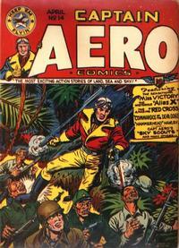 Cover Thumbnail for Captain Aero Comics (Temerson / Helnit / Continental, 1941 series) #v3#12 (14)