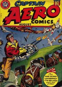 Cover Thumbnail for Captain Aero Comics (Temerson / Helnit / Continental, 1941 series) #v4#2 [16]