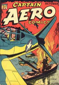 Cover Thumbnail for Captain Aero Comics (Temerson / Helnit / Continental, 1941 series) #v4#3 [17]