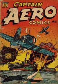 Cover Thumbnail for Captain Aero Comics (Temerson / Helnit / Continental, 1941 series) #23