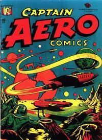 Cover Thumbnail for Captain Aero Comics (Temerson / Helnit / Continental, 1941 series) #26