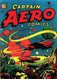 Cover Thumbnail for Captain Aero Comics (Temerson / Helnit / Continental, 1941 series) #26