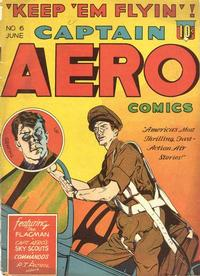 Cover Thumbnail for Captain Aero Comics (Holyoke, 1942 series) #v1#12 (6)
