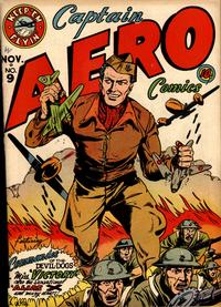 Cover Thumbnail for Captain Aero Comics (Holyoke, 1942 series) #v2#3 (9)