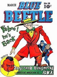 Cover Thumbnail for Blue Beetle (Holyoke, 1942 series) #19