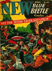 Cover Thumbnail for Blue Beetle (Holyoke, 1942 series) #20