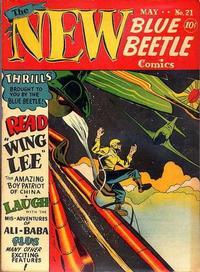 Cover Thumbnail for Blue Beetle (Holyoke, 1942 series) #21