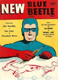 Cover Thumbnail for Blue Beetle (Holyoke, 1942 series) #22