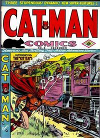 Cover Thumbnail for Cat-Man Comics (Temerson / Helnit / Continental, 1941 series) #v1#10 (5)