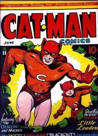 Cover Thumbnail for Cat-Man Comics (Holyoke, 1942 series) #v3#1 (11)