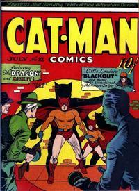 Cover Thumbnail for Cat-Man Comics (Holyoke, 1942 series) #v3#2 (12)