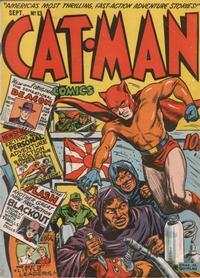Cover Thumbnail for Cat-Man Comics (Holyoke, 1942 series) #v3#3 (13)