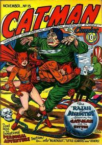 Cover Thumbnail for Cat-Man Comics (Holyoke, 1942 series) #v3#5 (15)