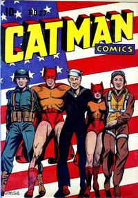 Cover Thumbnail for Cat-Man Comics (Temerson / Helnit / Continental, 1941 series) #27