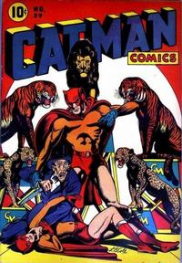 Cover Thumbnail for Cat-Man Comics (Temerson / Helnit / Continental, 1941 series) #29