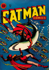 Cover Thumbnail for Cat-Man Comics (Temerson / Helnit / Continental, 1941 series) #32