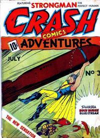 Cover Thumbnail for Crash Comics Adventures (Temerson / Helnit / Continental, 1940 series) #3