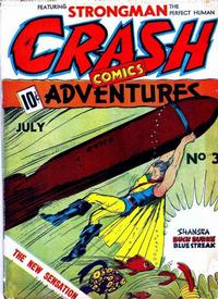 Cover for Crash Comics Adventures (Temerson / Helnit / Continental, 1940 series) #3