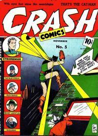 Cover Thumbnail for Crash Comics Adventures (Temerson / Helnit / Continental, 1940 series) #5