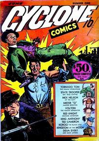Cover Thumbnail for Cyclone Comics (Worth Carnahan, 1940 series) #1