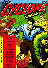 Cover Thumbnail for Cyclone Comics (Worth Carnahan, 1940 series) #2