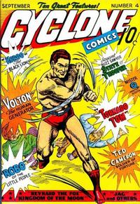 Cover Thumbnail for Cyclone Comics (Worth Carnahan, 1940 series) #4