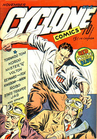 Cover Thumbnail for Cyclone Comics (Worth Carnahan, 1940 series) #5