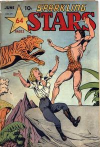Cover Thumbnail for Sparkling Stars (Holyoke, 1944 series) #24