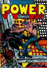 Cover Thumbnail for Power Comics (Narrative, 1945 series) #1