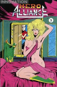 Cover Thumbnail for Hero Alliance (Innovation, 1989 series) #5