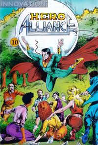 Cover Thumbnail for Hero Alliance (Innovation, 1989 series) #10