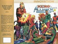 Cover Thumbnail for Hero Alliance: End of the Golden Age (Innovation, 1989 series) #1 [First Printing]