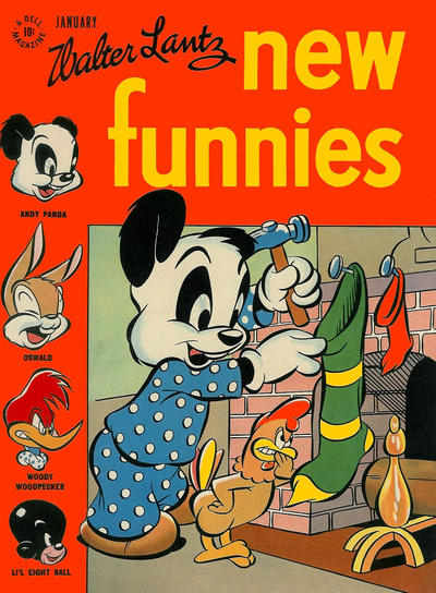 Cover for Walter Lantz New Funnies (Dell, 1946 series) #119