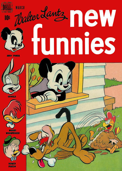 Cover for Walter Lantz New Funnies (Dell, 1946 series) #133