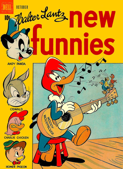 Cover for Walter Lantz New Funnies (Dell, 1946 series) #140