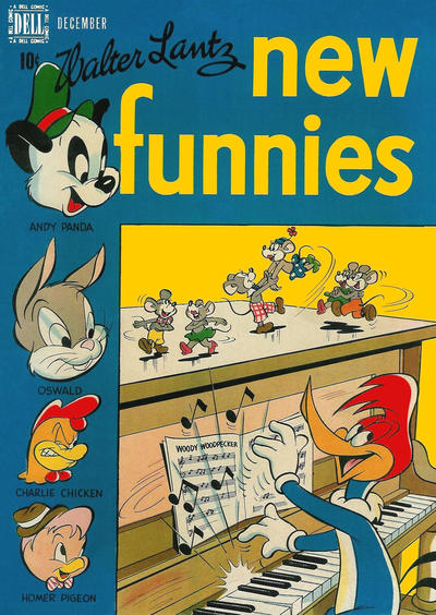 Cover for Walter Lantz New Funnies (Dell, 1946 series) #142