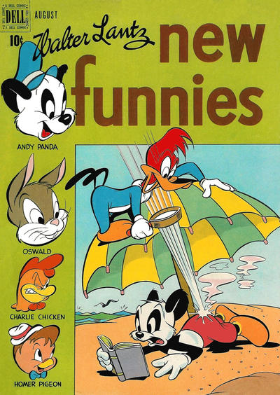 Cover for Walter Lantz New Funnies (Dell, 1946 series) #150