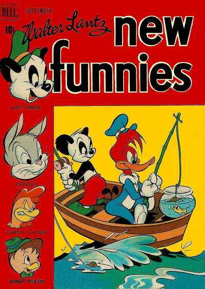 Cover for Walter Lantz New Funnies (Dell, 1946 series) #151