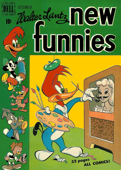 Cover for Walter Lantz New Funnies (Dell, 1946 series) #154